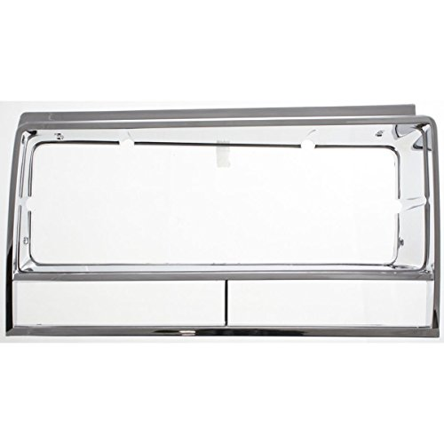 El Camino Headlamp Bezels - Diften 630-A0171-X01 - New Set of 2 Head light Headlight Doors Headlamp Bezels Left & Right Side Pair