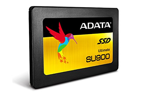 ADATA SU900 128GB Ultimate 3D NAND MLC 2.5'' Internal Solid State Drive - Black (ASU900SS-128GM-C) by ADATA (Image #1)