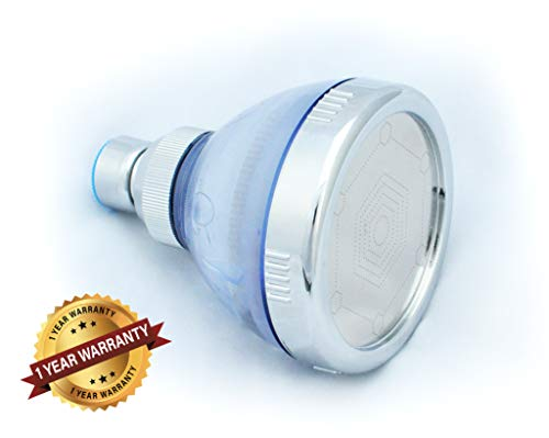 - Filtered Shower Head: Reduces Chlorine, Dissolved Solids, Chloramine, Heavy Metals: Increased Water Pressure & Water Saving: By Barclay's Buys