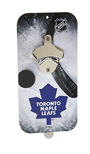 NHL Clink-N-Drink Magnetic Bottle Opener - Toronto Maple Leafs ()
