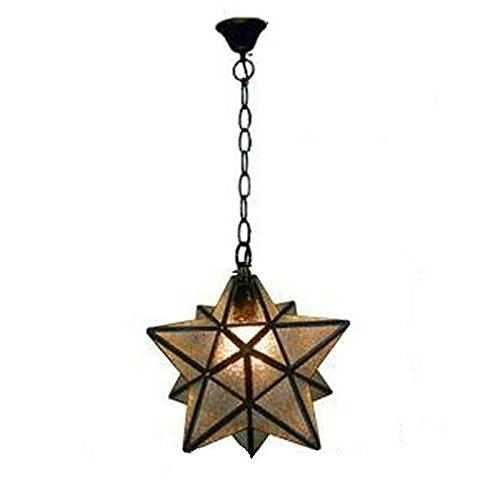 Rustic Star Pendant Light - 8
