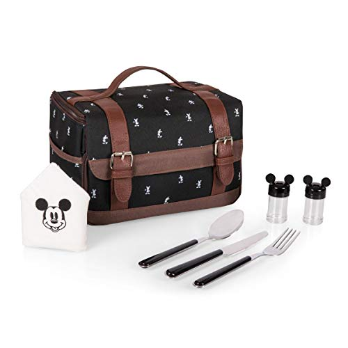 Disney Classics Mickey Mouse Insulated Lunch Tote with Service for One ()