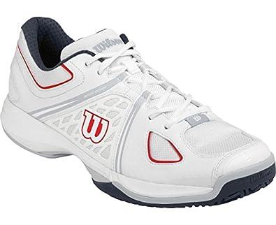 WILSON Nvision Zapatilla de cancha caballero: Amazon.es: Zapatos y complementos
