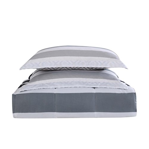 Style 212 Comforter Mini Set, Full/Queen, Newport Stripe