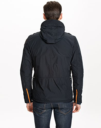Parajumpers Men's Flyweight Designer Blue Black Size X-Large 100% Polyester and mesh Lining of 100% Polyester.: Amazon.co.uk: Clothing