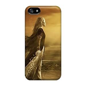 lintao diy New Tpu Hard Case Premium Iphone 5/5s Skin Case Cover(fantasy Girl 16)
