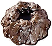 Nordic Ware Harvest Leaves Bundt Cake Pan, One Size, Bronze