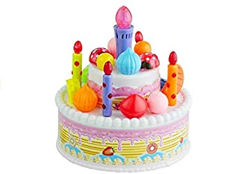 BSD Pastel de cumpleaños Galletas, Velas, Helados.: Amazon ...
