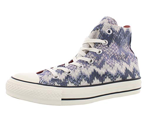 Converse Unisex Chuck Taylor All Star Missoni Hi Egret/Multi Casual Shoe 55 Men US / 75 Women US