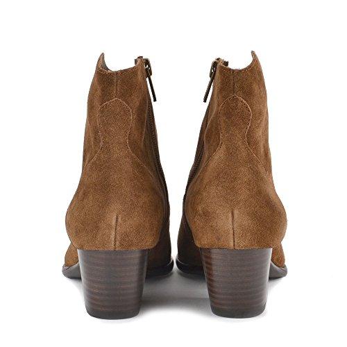 Botines Ante Zapatos Russet Russet Ash Bis Heidi de Mujer c7RqgSP