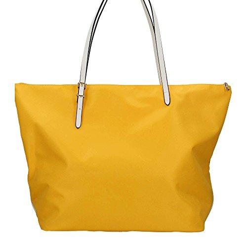 Borsa Shopping grande Y Not Linea Bali colore Giallo