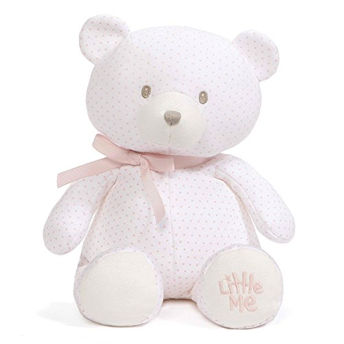 - Baby GUND x Little Me Polka Dot Teddy Bear Stuffed Animal Plush, 10