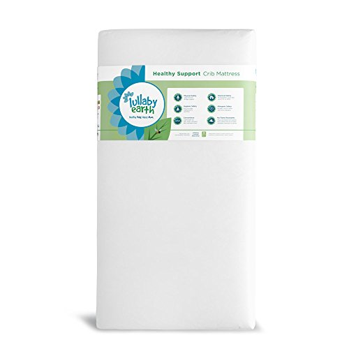 White Healthy - Lullaby Earth Healthy Support Crib Mattress - Origional - White