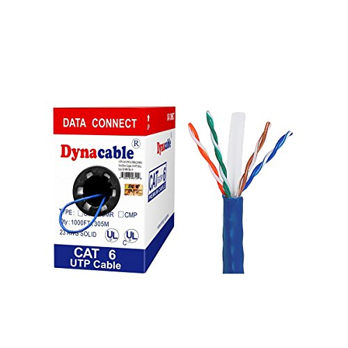 UL-Listed) DynaCable Cat6 In-Wall Rated (CM) Solid Bare Copper Bulk ...