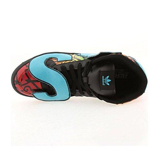 Adidas Jeremy Scott Letras Multicolor - Negro / Negro