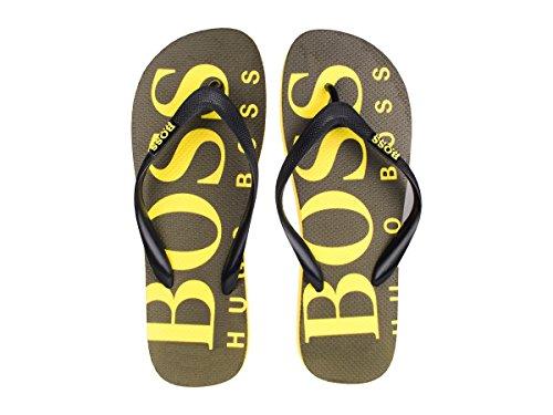 Sandaalit 001 Vihreä Miesten Musta Remmi Boss Hq4xAtvWw