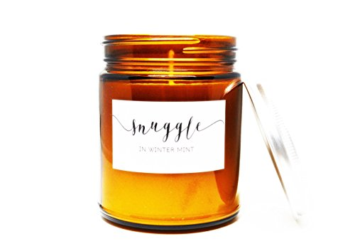 snuggle-in-winter-mint-soy-candle-in-amber-glass-jar-with-silver-lid