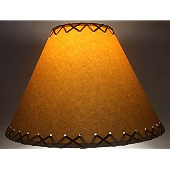 Cal Lighting SH-1071 12-Inch Side Leatherette Shade - Lamp Shades ...