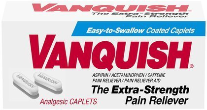 Vanquish Extra Strength analgésique Caplets-100 ct. (Pack de 3)