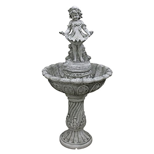Design Toscano Abigail's Bountiful Apron Cascading Garden Fountain by Design Toscano