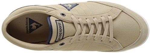 Le Coq Sportif Herren Feretcraft Twill Cvs Sneakers, Braun Elfenbein (Sésame/Dress Blue)