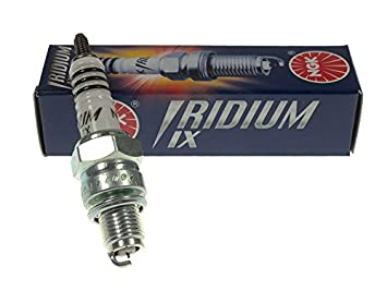 Bujía NGK Iridium CR6HIX para AJS Beta Daelim Honda Kawasaki Keeway Malaguti Peugeot Quick Foot/Open Concepts Sachs Sherco skyteam Suzuki SYM WMI Yamaha: ...