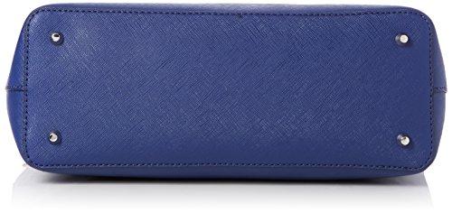 Guess Hwbl6777230, Borsa a Mano Donna, Blu (Blue Multi), 1.5 x 16 x 24 cm (W x H x L)