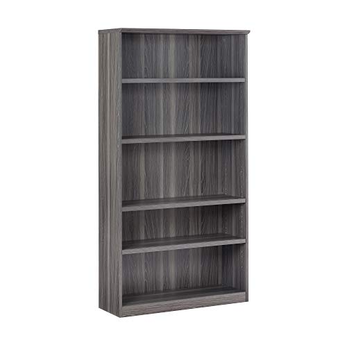 (Safco Products MVB5LGS Bookcase, Gray Steel Laminate)