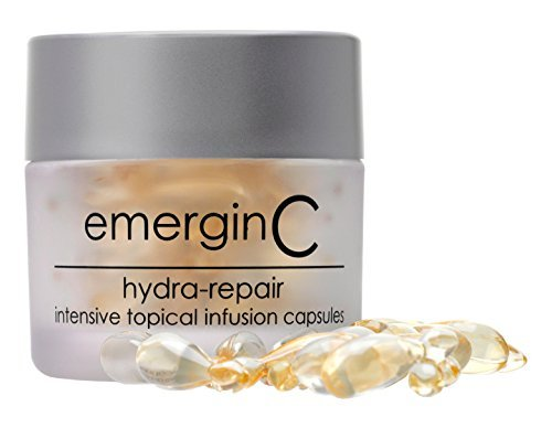 emerginC - Hydra-Repair, Intensive Topical Infusion Serum Capsules to Improve Lipid Content for All Skin Types, 40 capsules by EmerginC