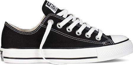 Converse Chuck Taylor zapatos de Ox englantine Negro