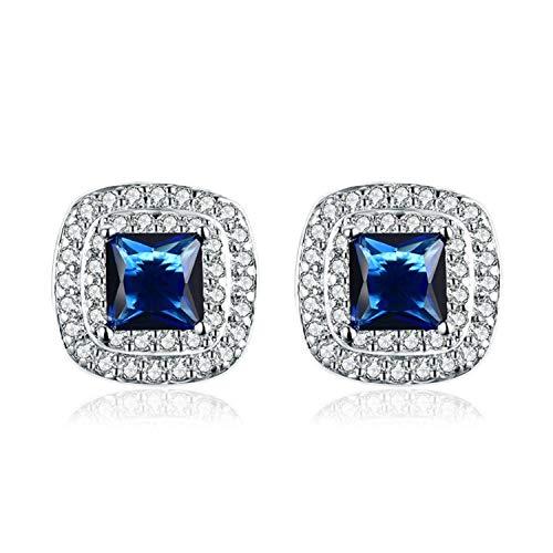 Newly Large Star Large Hoop Earring For Women Grill Gold Silver Statement Earrings Bijoux Jewelry Party Club LE0196,bluestone