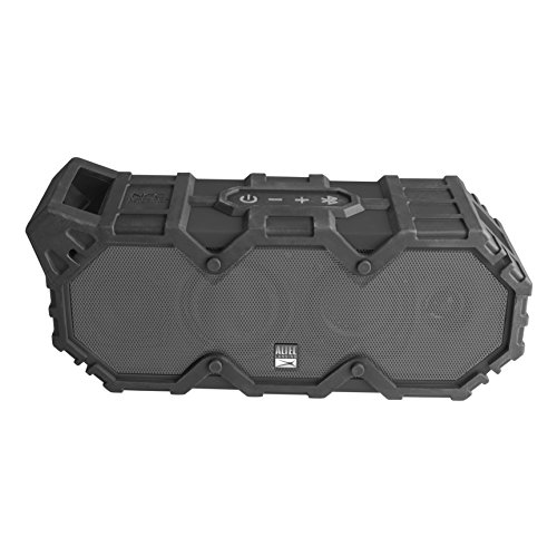 Altec Lansing IMW789-BLG LifeJacket XL Wireless Waterproof Floatable Bluetooth Speaker with 100 ft Wireless range, 40 Hours of Battery Life, and Stereo Pairing, Black/Grey by Altec Lansing (Image #5)