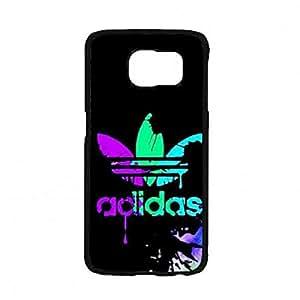 Para Samsung Galaxy S7,Visual Luxury Cover Funda Adidas Logo Phone Funda Hard Funda Para Sports Fans Phone Funda