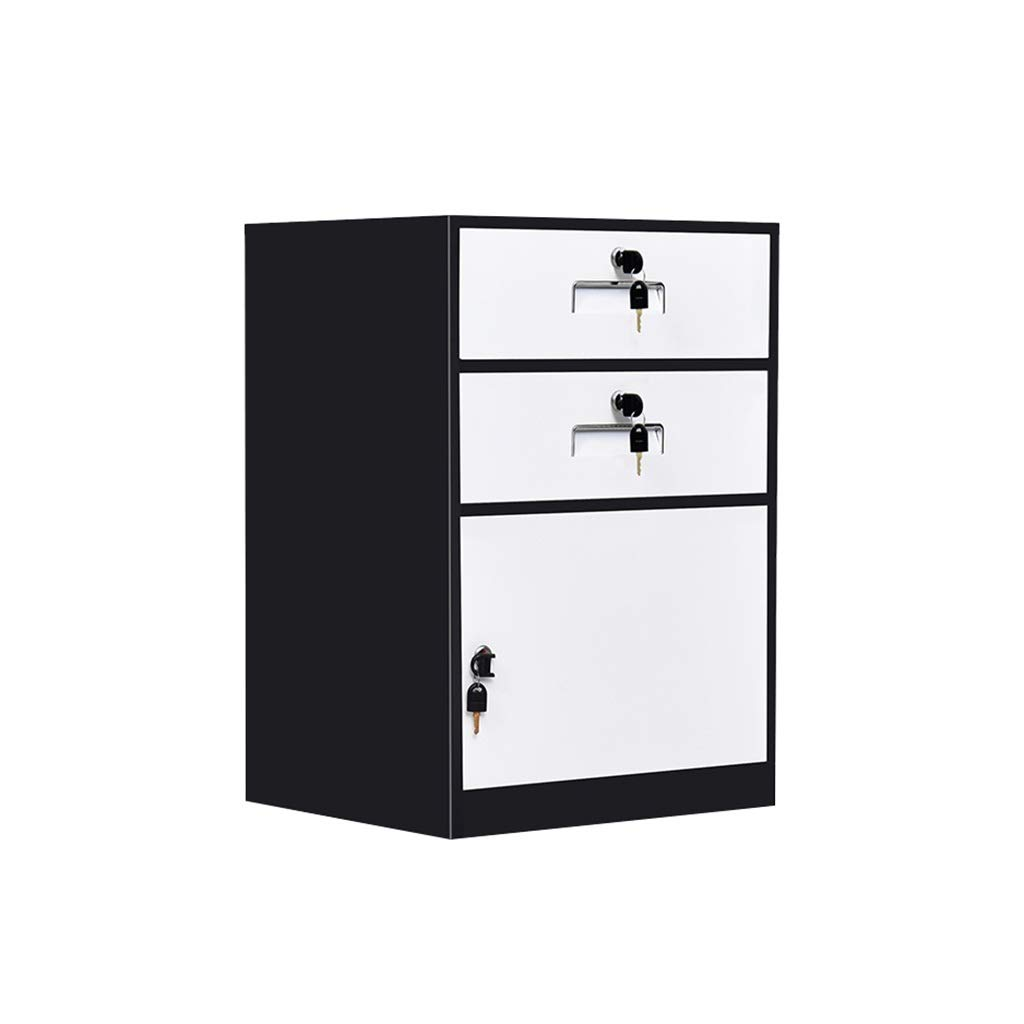 QSJY File Cabinets Fireproof and Durable Large Space with Lock Metal Locker Compartment Design Storage Protection Important documents 443965cm (Color : C)