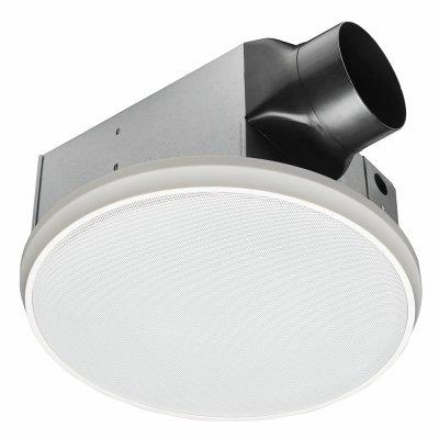 Stupendous Homewerks Worldwide 7130 03 Bt Bathroom Fan Bluetooth Speaker Ceiling Mount Exhaust Ventilation 1 5 Sones 90 Cfm White Download Free Architecture Designs Viewormadebymaigaardcom