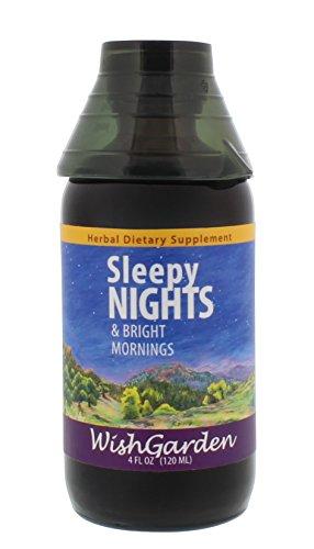 WishGarden Herbs - Sleepy Nights, Organic Herbal Sleep Aid, Supports Healthy Sleep Cycles, Wake Up Fresh in The Morning (4 oz - Wishgarden Herbs