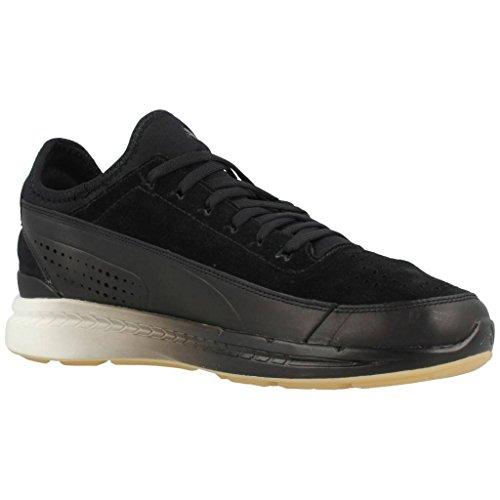 Puma Ruskind Klassiske Wn S Dame Sneakers Sort vNkIl