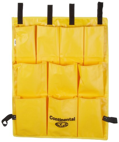 Continental 277 Yellow Ten Pocket Caddy Bag for 275, 54 and 55 Cart