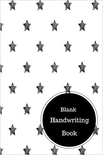 Blank Handwriting Book: Kindergarten Handwriting Worksheets. Handy ...