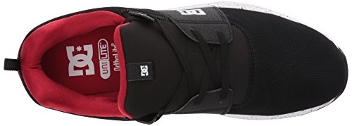 DC - - Herren-Heathrow IA Skate-Schuhe, EUR: 42, Black/Red