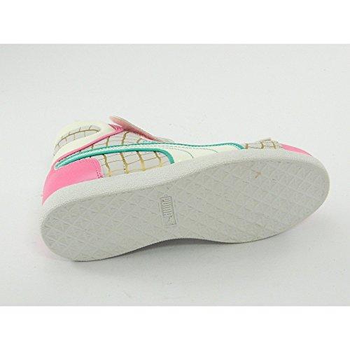 Puma - Puma First Raund sneakers kinderschuhe rosa himmelblau - Rosa, 34.5