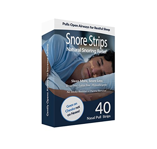 Stop Snoring Strips Solution Airways product image