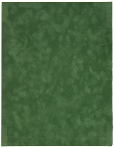 Sew Easy Industries 12-Sheet Velvet Paper, 8.5 by 11-Inch, Cypress by Sew Easy Industries