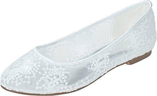 5 Sandales 36 EU Compensées Find Nice Blanc Blanc Femme q0nPC