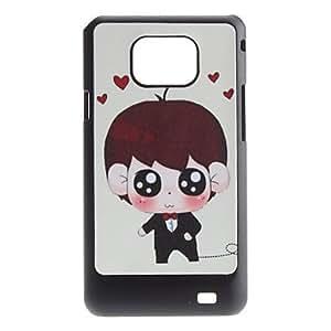 conseguir Diseño Flash Wedding Male Pattern Hard Case for Samsung Galaxy S2 i9100