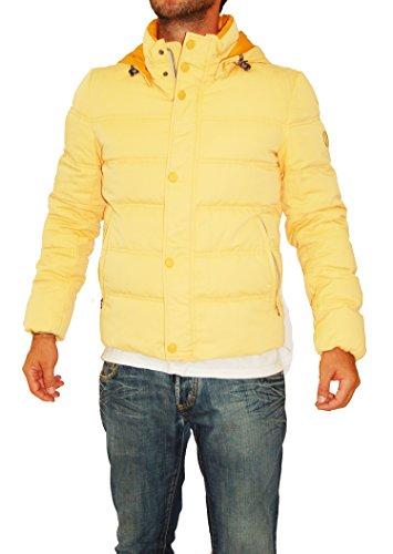 Arancione Uomo Size Kejo M Ak383 Giubbotto 0TIcR8wq