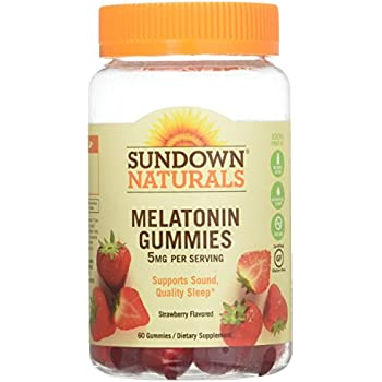 Sd Melatonin Gummies Size 60ct Sundown Melatonin Gummies 60ct (2 Pack)