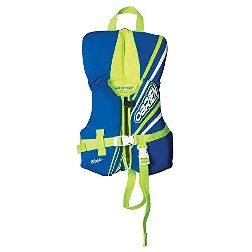 O'Brien Infant Neoprene Life Vest, Blue/Green, 30-Pound