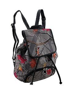 HotLeaf Camo Print Concealed Carry Backpack