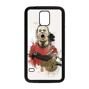 C-EUR Diy case Wayne Rooney customized Hard Plastic Case For Samsung Galaxy S5 i9600 [Pattern-3]